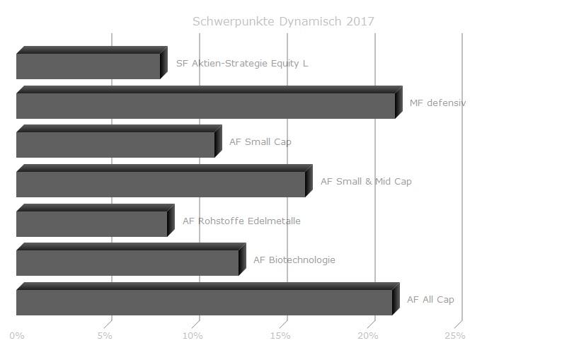 Anlagestrategie Dynamisch